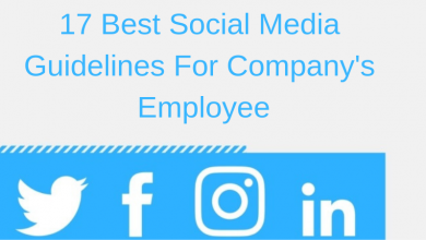 best social media guidelines for employees
