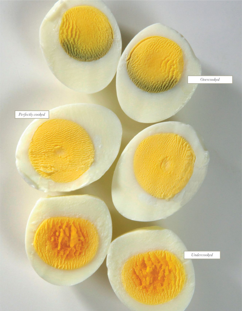 perfect hard cooked eggs