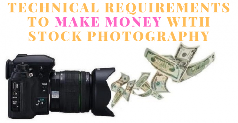 make money with stock photography