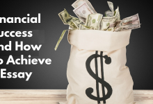 financial success and how to achieve it essay