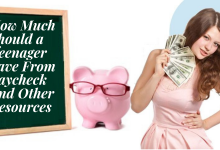 how much should a teenager save from paycheck