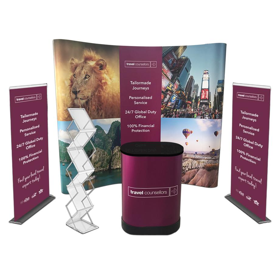 how to make exhibition stall attractive