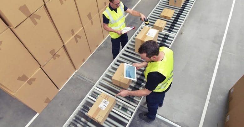 Warehouse line marking guidelines