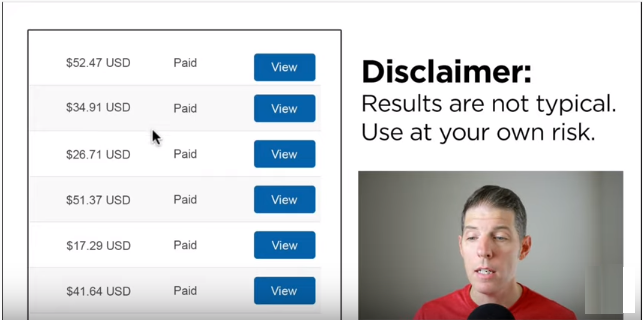 disclaimer: getting free paypal money is not typical