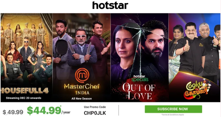 hotstar offers in usa